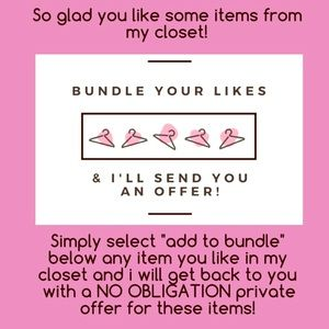 Other - Bundle away ♥️